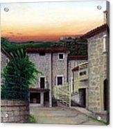 Vallecchia De Monte Calvo Acrylic Print