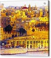 Valletta Capital Of Malta Acrylic Print