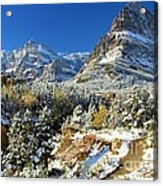 Valley Below Grinnell Acrylic Print
