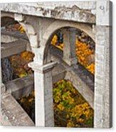 Valley Bridge 3 Acrylic Print