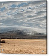 Valley Clouds Acrylic Print