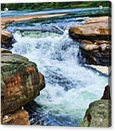 Valley Falls Acrylic Print