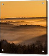 Valley Fog Acrylic Print
