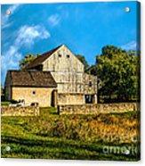Valley Forge Barn Acrylic Print