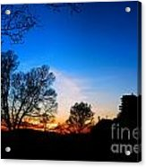 Valley Forge Evening  Acrylic Print