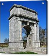 Valley Forge National Memorial Arch Acrylic Print