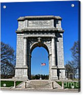 Valley Forge Park Memorial Arch Acrylic Print