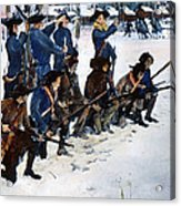 Valley Forge: Steuben, 1778 Acrylic Print