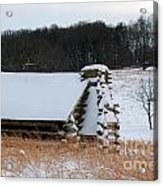 Valley Forge Winter 10 Acrylic Print