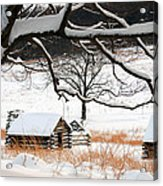 Valley Forge Winter 14 Acrylic Print