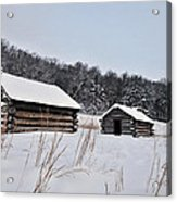 Valley Forge Winter 7 Acrylic Print
