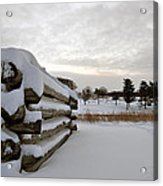 Valley Forge Winter 8 Acrylic Print