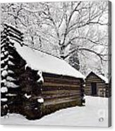 Valley Forge Winter 9887 Acrylic Print