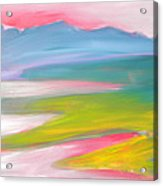 Valley Morning 1 Sunrise Acrylic Print