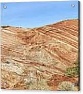 Valley Of Fire - Fire Wave Panorama Acrylic Print