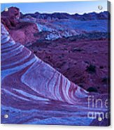 Valley Of Fire - Fire Wave 2 - Nevada Acrylic Print