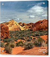 Valley Of Fire Acrylic Print by Robert Bales