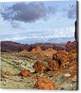 Valley Of Fire State Park Acrylic Print