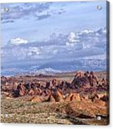 Valley Of Fire Vista Acrylic Print