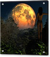 Valley Of The Moon... Acrylic Print