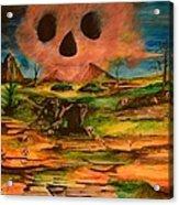 Valley Of The Skulls Acrylic Print