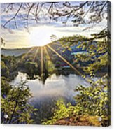 Valley Sunrise Acrylic Print