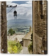 Valley View - Assisi Acrylic Print