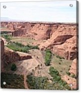 Canyon De Chelly Valley View   Acrylic Print