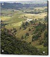 Valley View Of  Atherton Tableland Acrylic Print