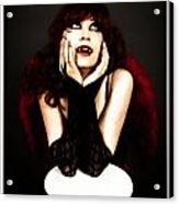 Vamp Girl Acrylic Print
