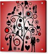 Vampire Art Acrylic Print