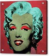 Vampire Marilyn Variant 1 Acrylic Print