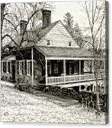 Van Cortlandt Manor Acrylic Print