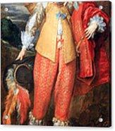 Van Dyck's Henri II De Lorraine Acrylic Print