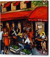 Van Dyke Cafe Acrylic Print