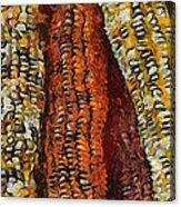 Van Gogh Corn Acrylic Print