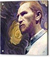 Van Gogh Portrait Acrylic Print