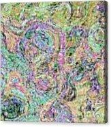 Van Gogh Style Abstract I Acrylic Print