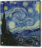 Van Gogh The Starry Night Acrylic Print