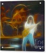 Van Halen-91-ge7a-fractal Acrylic Print