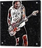 Van Halen-93-mike-gc23-fractal Acrylic Print