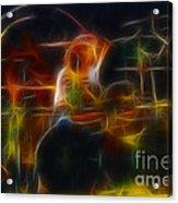 Van Halen-alex-93-gc5-fractal Acrylic Print