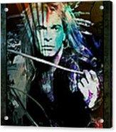 Van Halen - David Lee Roth Acrylic Print