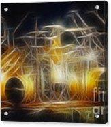 Van Halen-ou812-alex-f24a-fractal Acrylic Print
