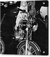 Van Nuys Boulevard 092 15a Uneasy Rider Acrylic Print