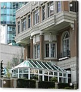 Vancouver Architectural Heritage Acrylic Print