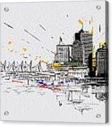 Vancouver Art 004 Acrylic Print