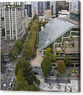 Vancouver Bc Downtown Cityscape View Acrylic Print