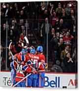 Vancouver Canucks V Montreal Canadiens Acrylic Print