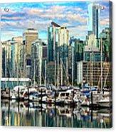 Vancouver City Acrylic Print
